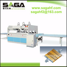 High Frequency Wood Joining Edge Gluer With Two Direction Hydraulic Press 30kw