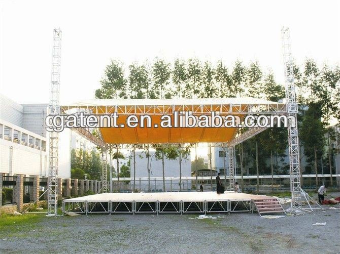 Outdoor aluminum roof spigot truss,spigot truss tent