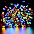 Waterproof led tiny string outside solar fairy lights for Christmas deco