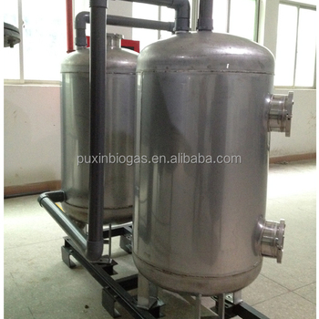 Easy assembling excellent structured long lifespan biogas digester filter