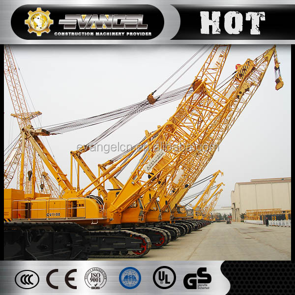 CONSTRUCTION MACHINERY TRUCK CRAWLER CRANE QUY55 EXPORT TO AFRICA