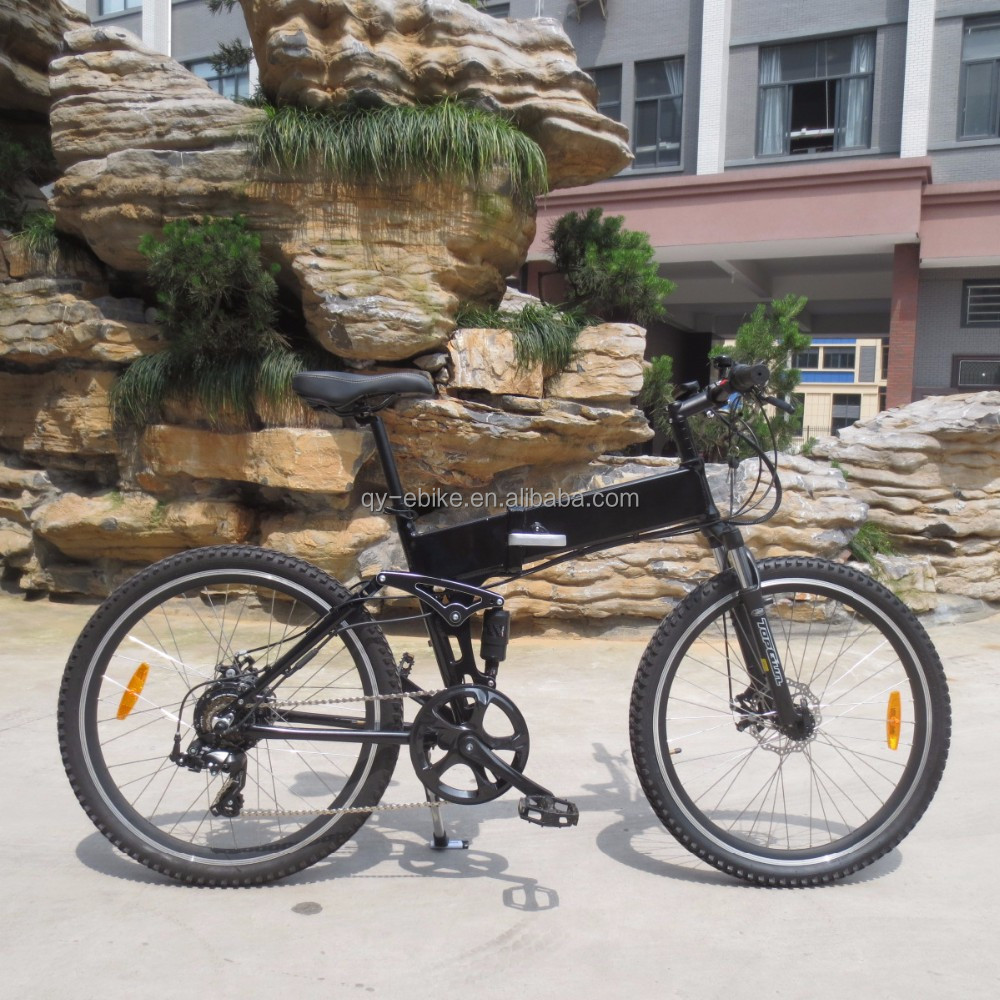 full suspension electric bike folding bicycle 26 MTB