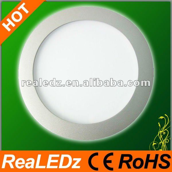 Small round wall paper 8inch 16W led panels illuminated