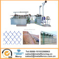 Playground basketball field fencing making machine PLC chain link fence weaving machine