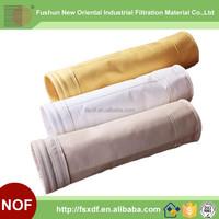 Dust Filter Bag for Gas Disposal , Needle punched felt pulse jet bag filter