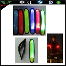 night LED sports armband / flashing safety light for running cycling / walking safety