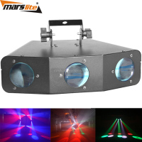 American dj lighting 15pcs RGBWA 3W single color LED strobe effect light