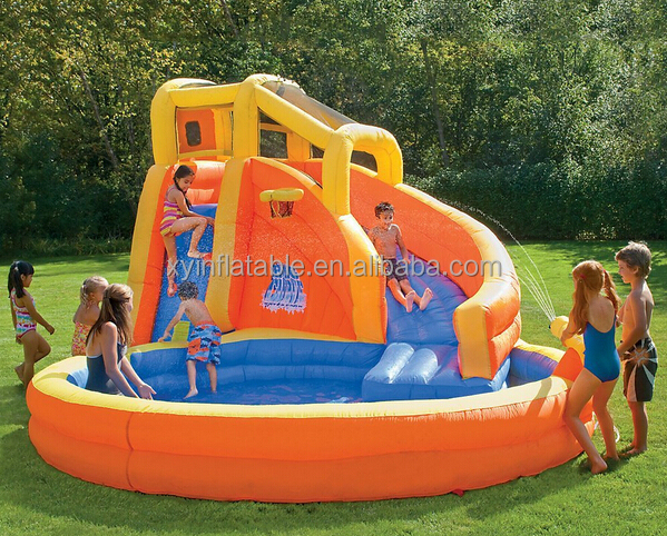 GZ Cheap prices inflatable water slide clearance