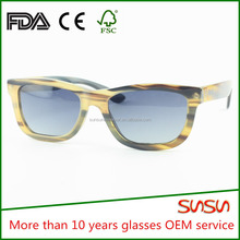 The Latest brand sunglasses quality customs eyewear with buffalo horn white design sun glass