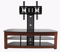 Tv wall mount with dvd bracket tables wood modern tv RM012