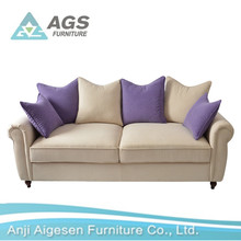 High Quality New Design Low Price Living Room Furniture Sofa AGS-7102