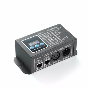 New design dmx decoderr with RJ45 and XLR port