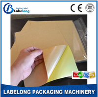 A4 kraft paper stickers, laser Stickers A4 ink jet printing paper A4 kraft paper adhesive