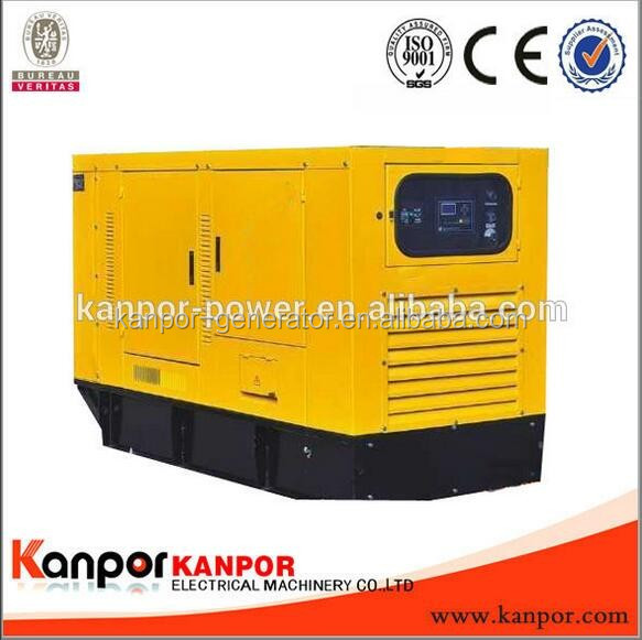Hot selling 80KW AC Three Phase water cooled generator in china