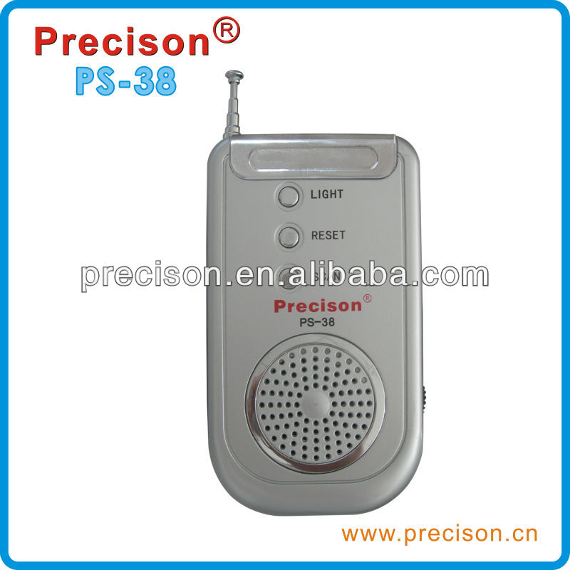 Hot sales FM band radio for promotion with speaker and light