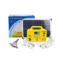 High efficiency solar energy system,portable 30w solar panel system outdoor and home use