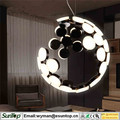 led lamp for the house acrylic chandelier indoor pendant lamp