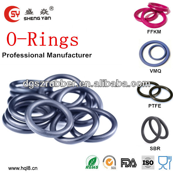 china supplier supply heat resistant silicone o ring food grade