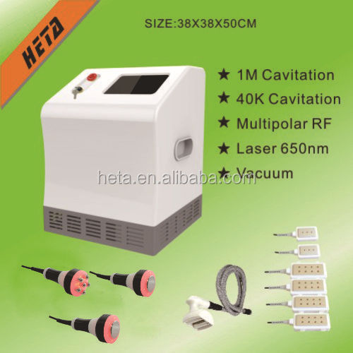 vacuum Cavitation rf laser liposuction fat belly burning machine