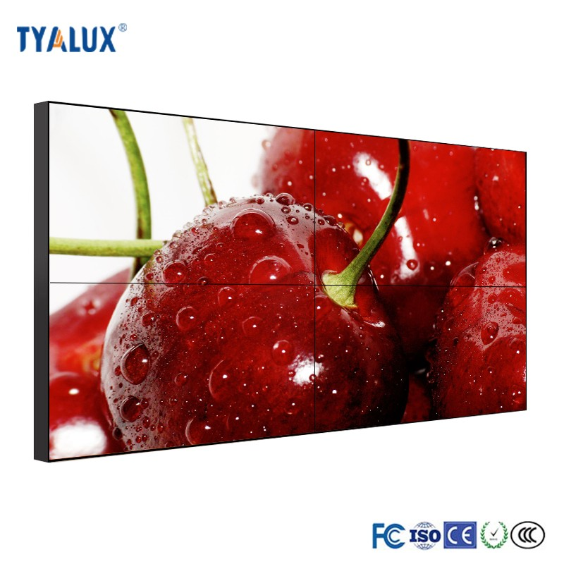 55 inch Advertising LCD TV Wall or LCD Splicing Flat Screen Video Wall Price