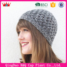 Cheap knit Wool Hat Pattern Beanie Hat for Girls