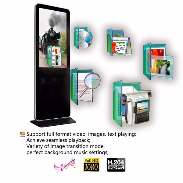 SH3275HD 32 inch HD kiosk advertising display oled