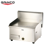 Commercial used gas steack griddle stainless steel
