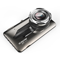 Touch Panel Dual Camera Fhd 1080P Car Camera Dvr Video Recorder