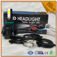 new arrival electric motorcycle projector headlight led bulb dc 12v