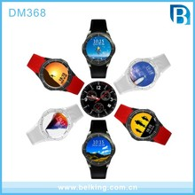 Alibaba Hottest GPS Heart rate WIFI Smart watch DM368 Bluetooth 4.0 Android IOS system