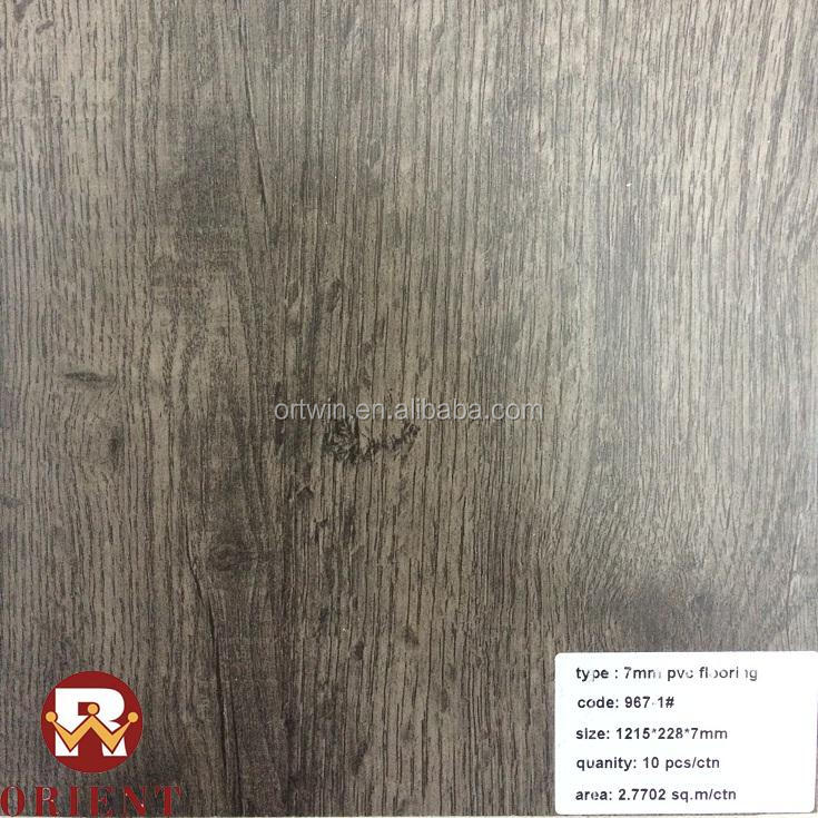 Virgin Material Waterproof Unilin Click 7mm Vinyl PVC Flooring