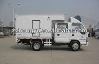 double row small box trucks for sale,small mini box van truck,Cargo van truck