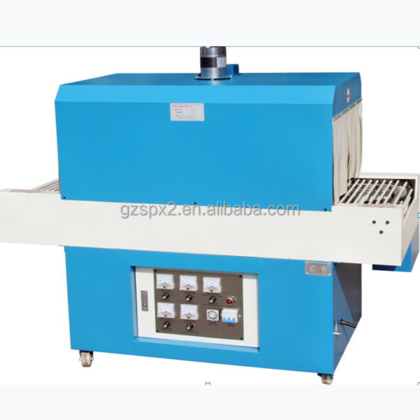SPX Thermal Shrinking Packaging Machine For Small Business of Beverage, Cosmetics, Food