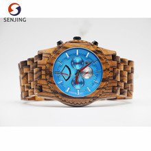 2017 new arrival high quality jord brand automatic mechanical luxury wood wrist watch wood skeleton dial for men