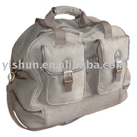 Deluxe Heavy Canvas Duffel Bag for Travel or Business