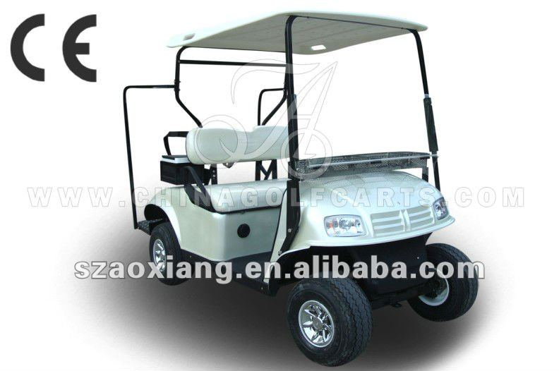 Electric Car,Golf Cart,4seater, 48V 3KW,CE,with folded rear seat kit