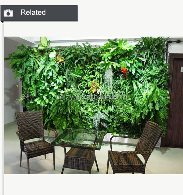 Artificial Vertical Garden Artificial Plant Wall
