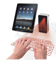 NEW YEAR PROMOTION virtual laser keyboard bluetooth with iPad and iPhone 6 plus connection perfect match
