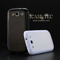 2013 New cell phone special design high quality fashion transparent soft tpu case for samsung galaxy s3 i9300