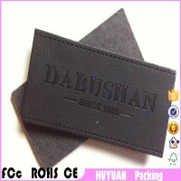 Garment leather brand standard custom processing