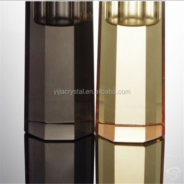 Top-Sale Home Decorative Crystal Glass Vase for Wedding Centerpiece/Hotels