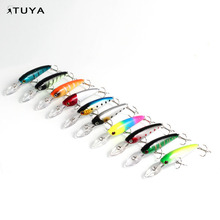 Factory direct minnow fishing soft vibe lure