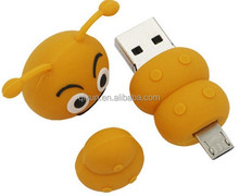 hot sale mobile phone cartoon anime usb flash drive 8gb bulk cheap wholesale