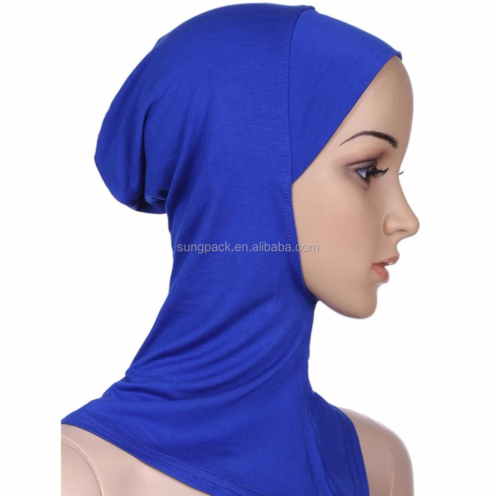 Hot Sell Mix Colors Hijab Caps Muslim Islamic Arabic Women Inner Underscarf