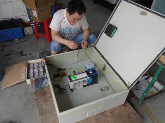 ATS Electric Box Assembly
