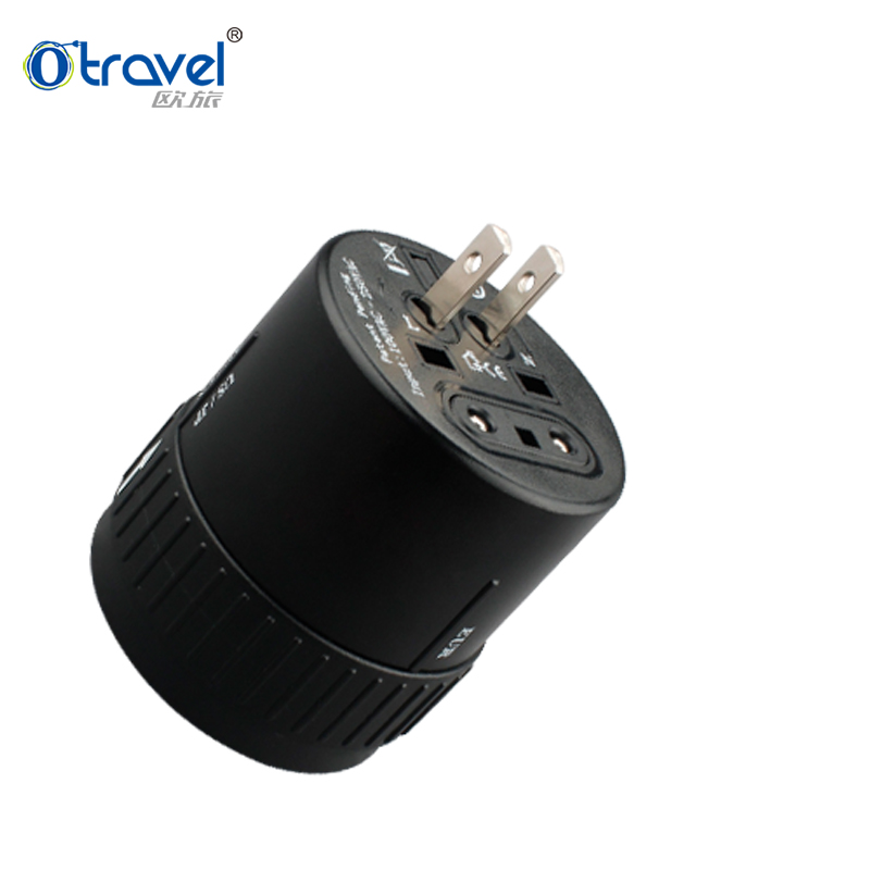 Otravel SL-181A Multi socket US, Euro, British/AUS/NZ plugs universal travel adapter 3 in 1 adapter