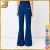 New Arrival flared pants for woman, official ladies pants, pants trendy women