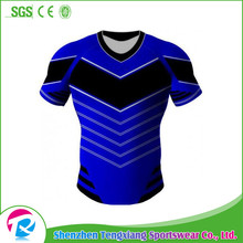 2017 New design Cheap Custom Sublimation Rugby jersey
