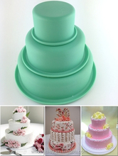 Practical & collapsible silicone cupcake mould