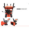 Professional garden supplier with low price snow blower